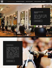 Diseño web mercedespeluqueros.es