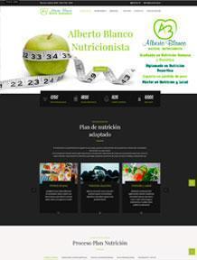 Diseño web nutricionab.es