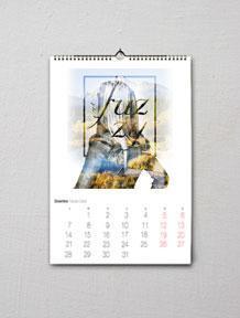diseño gráfico calendario